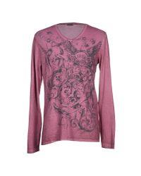 GAUDI - Purple T-shirt for Men - Lyst