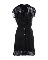 Paul by Paul Smith - Black Short Dress - Lyst