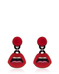 Yazbukey | Red Le C'Est Ahh Earrings | Lyst