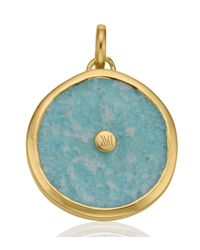 Monica Vinader - Blue Atlantis Eye Pendant - Lyst