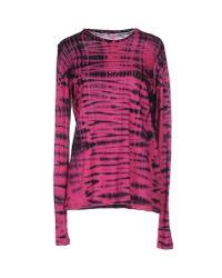 Proenza Schouler | Purple T-shirt | Lyst