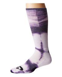 Nike | White Tie-dye Dri-fit Skate Crew | Lyst