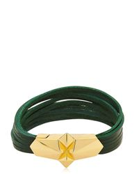 Tomasz Donocik Green Shard Burst Bracelet