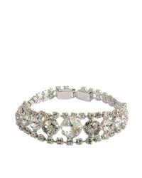 Helene Zubeldia | White Crystal Timeless Bracelet | Lyst