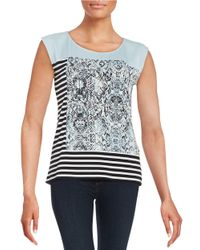 Calvin Klein - Multicolor Printed Shell - Lyst