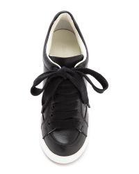 See By Chloé Black Wedge Sneakers Nero