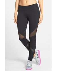 Zella | Black 'live In - Out Of Bounds' Slim Fit Leggings | Lyst