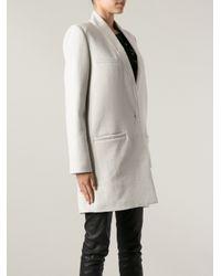Isabel Marant | White Oversize Coat | Lyst