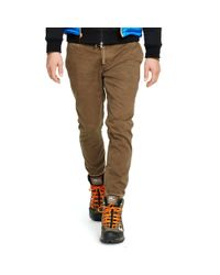 Polo Ralph Lauren | Brown Straight-fit Chino Jogger for Men | Lyst