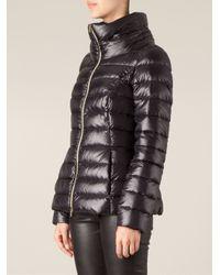 Herno - Black Padded Jacket - Lyst