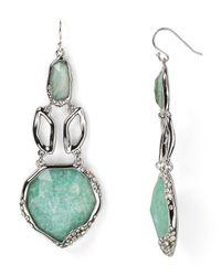 Alexis Bittar | Green Amazonite Chandelier Drop Earrings | Lyst