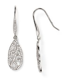 Carolee | Metallic Pavé Teardrop Earrings | Lyst