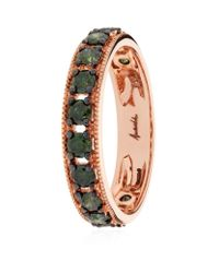 Annoushka - Green Dusty Diamond Eternity Ring - Lyst