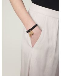Marc By Marc Jacobs Black Whistle Charm Bracelet