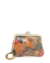 Patricia Nash Multicolor 'large Borse - Vintage Patch' Leather Bag Charm