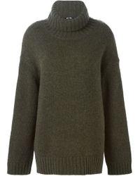 BLK DNM - Green Oversized Sweater - Lyst