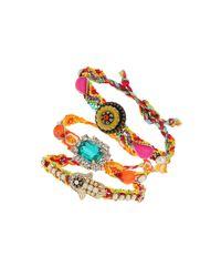 TOPSHOP - Multicolor Bright Friendship Bracelet Set - Lyst