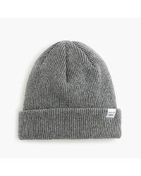 Norse Projects | Gray Lambswool Beanie for Men | Lyst