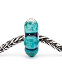 Trollbeads | Blue Sterling Silver Dream Away Charm | Lyst