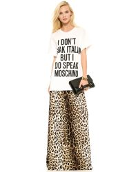 Moschino Multicolor Cheap And Chic Leopard Maxi Skirt - Leopard