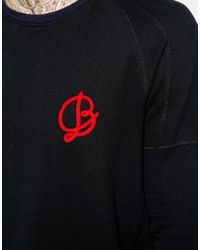 Scotch & Soda - Black Sweatshirt With B Logo for Men - Lyst