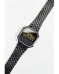Nixon - Black Rerun Watch for Men - Lyst
