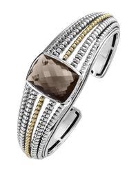 Lagos | Metallic 'prism' Cuff | Lyst
