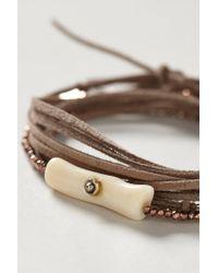 Pascale Monvoisin | Brown Isere Wrap Bracelet | Lyst