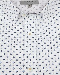 Ted Baker | White Ls Ghost Print Shirt for Men | Lyst