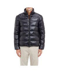 Herno Black Men's Quilted Puffer Jacket for men