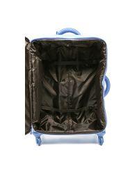 "Lipault - Blue 4-wheeled 28"" Packing Case - Azure - Lyst"