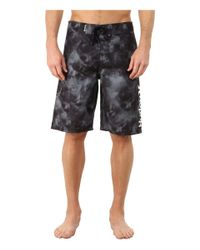"Hurley - Black Force Core 3 22"" Boardshorts for Men - Lyst"