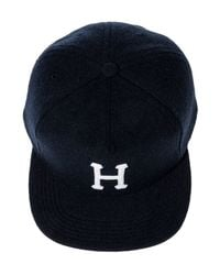 Huf Blue The Wool Classic H Strapback Hat for men