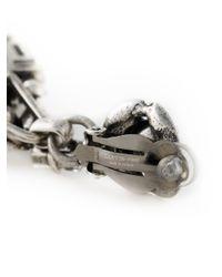 Lanvin - Metallic Swarovski Crystal Clip On Earrings - Lyst