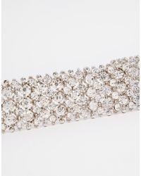 ALDO - Metallic Jeriaven Crystal Choker Necklace - Lyst