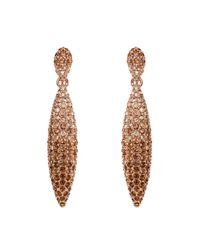Caroline Creba | Multicolor Gradient Crystal Earrings | Lyst