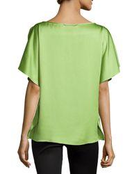 Michael Kors - Green Dolman-sleeve Tunic - Lyst