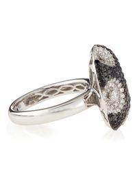Roberto Coin | Blue Meteorite Diamond & Sapphire Ring | Lyst