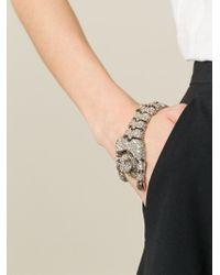 Roberto Cavalli - Metallic Panther Bracelet - Lyst