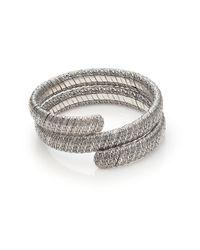 John Hardy | Metallic Classic Chain Sterling Silver Double Coil Bracelet | Lyst