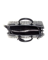 Saint Laurent Black Sac De Jour Small Embellished Leather Tote