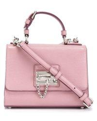 Dolce & Gabbana - Pink Medium 'monica' Satchel - Lyst