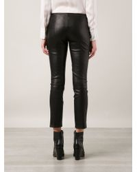The Row - Black 'delores' Trousers - Lyst