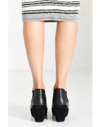 Kelsi Dagger Brooklyn - Black Thea Wedge Ankle Boot - Lyst