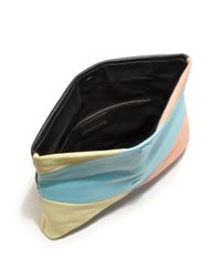 Marc By Marc Jacobs - Multicolor Hvac Colorblocked Clutch - Lyst