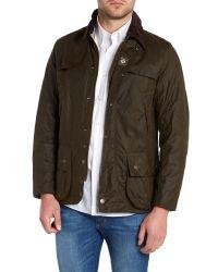 Barbour | Green Land Rover Rugby Kingshol Jacket for Men | Lyst