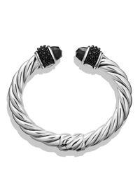 David Yurman - Metallic Osetra Bracelet With Black Onyx - Lyst