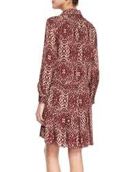 Haute Hippie Multicolor The Chloe Silk Shirtdress