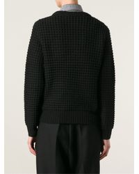 Marc By Marc Jacobs Black 'wally L/s' Sweater