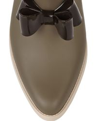 Vivienne Westwood Anglomania - Green + Melissa Rubber Rain Boots - Lyst